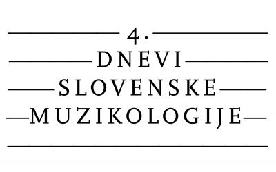 Dnevi slovenske muzikologije 2020